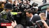 McPartlin муравей прибывает в суд
