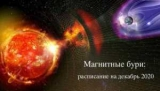 Украинцев в декабре ожидает три магнитные бури